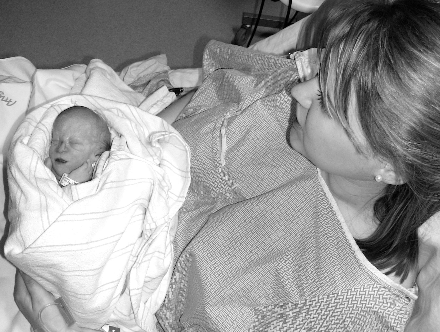Instead was born straight into heaven from a rare congenital defect